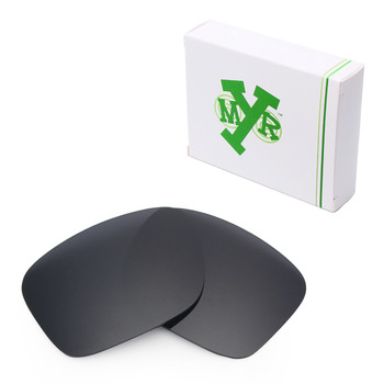 Mryok Anti-Scratch POLARIZED Replacement Lenses for Oakley Holbrook OO9102 Sunglasses Stealth Black