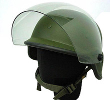 SWAT Airsoft M88 Style PASGT Helmet With Visor War Game helmet Tactical Accessories