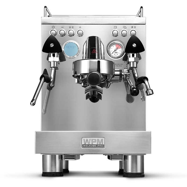 WELHOME KD-310 Espresso  Machine  Coffee Maker Stainless Steel Semi-automatic steam coffee machine cafetera 1