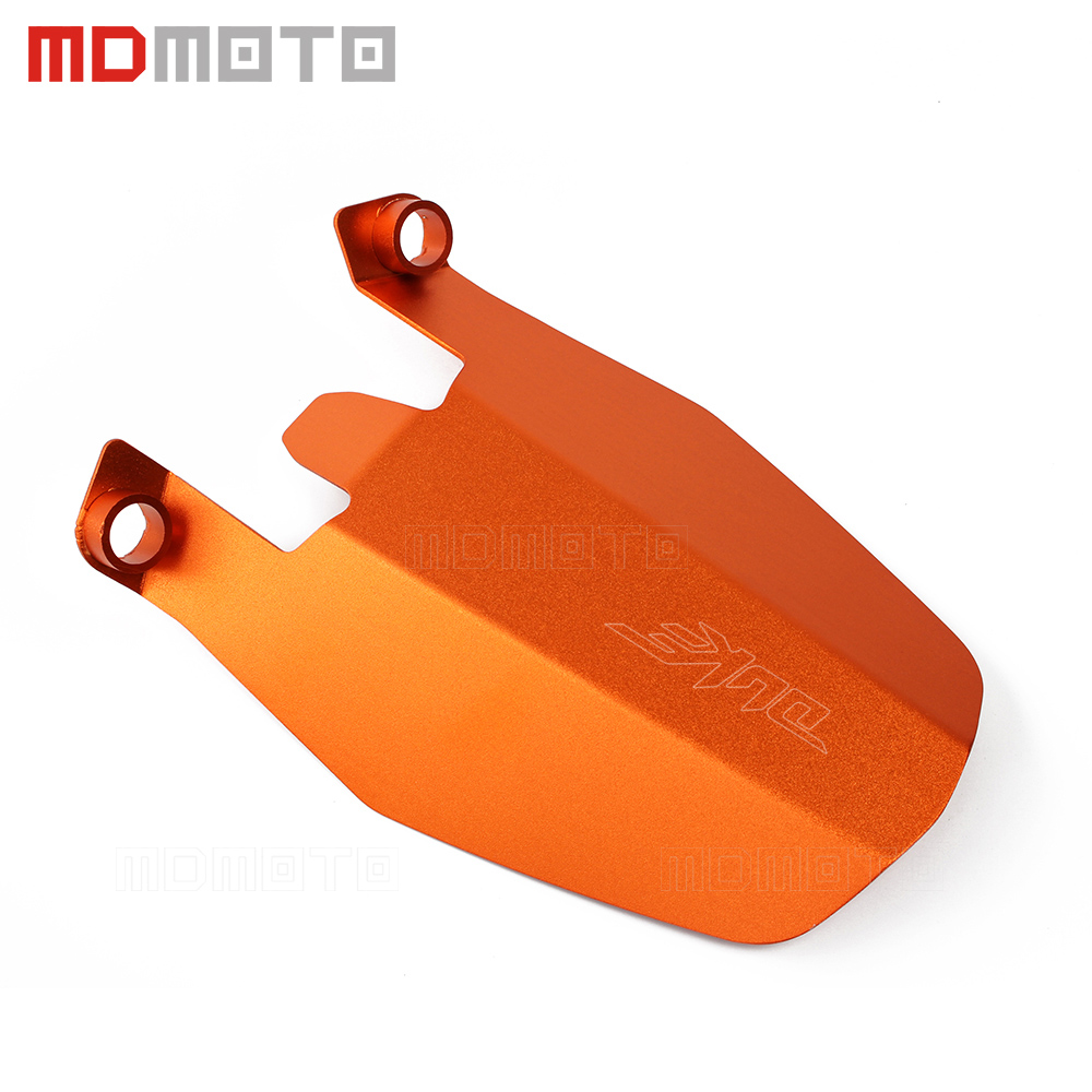 For KTM DUKE 390 2013-2018 DUKE 250 2017 2018 DUKE 125 DUKE 200 Motorcycle Aluminum rear Wheel Cover fender extension Extender