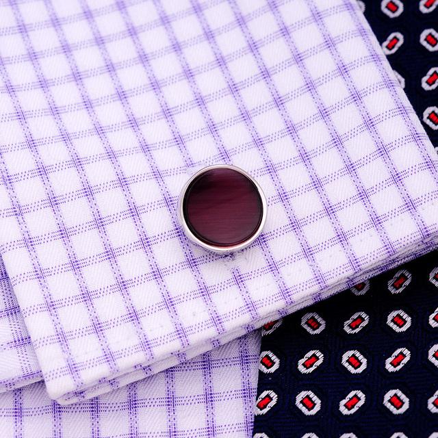 Kflk Shirt Cufflink Men's Cuff Button Link Wedding Gemelos High Abotoaduras Designer Jewelry