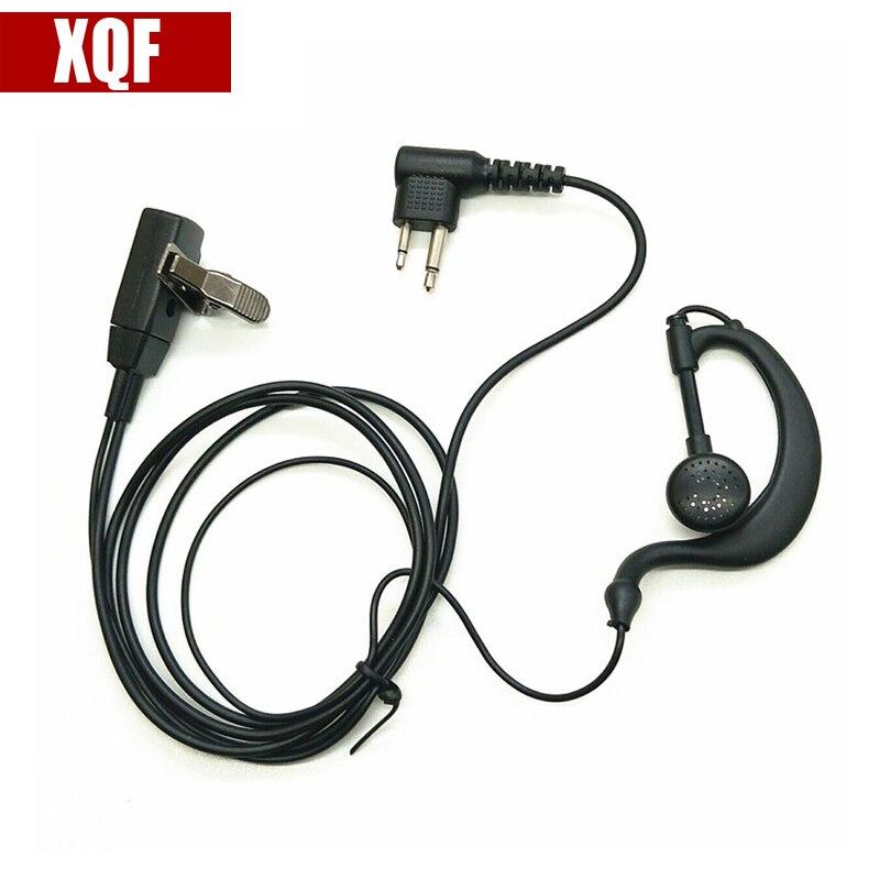XQF Headset Earhook Earpiece For Motorola Radio P110 SP21 SP10 P1225 GP3188 GP3688 PRO3150 GP2000 GP88 GP88S