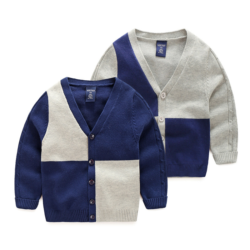Online Buy Wholesale navy cardigan boys from China navy cardigan ...