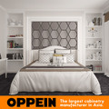 New Luxury Modern Bed Room White latest double bed designs
