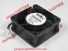 Free Shipping For Nidec M34313-55RA3F DC 24V 0.16A, 60x60x25mm 50mm, 2-wire 2-pin connector Server Square Cooling Fan