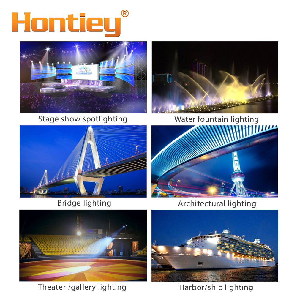 Hontiey LED light Bead 60 75 90 150 180 200 250 300W Watts Specialty White Chip for Stage Architecture Luminously Bulb Projector in Light Beads from Lights Lighting