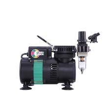цены на OPHIR Air Compressor for Hobby Model Two Fans Mini Air compressor Body Paint Temporary Tattoo Nail Art Food Coloring AC049  в интернет-магазинах