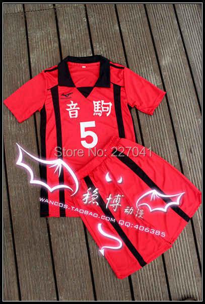 אנימה Haikyuu Nekoma Tetsurou Kuroo Kenma Kozume ספורטוויר קוספליי בגדי תלבושות שמלה להגדיר משלוח חינם