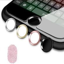Сенсорная ID Главная Кнопка Наклейка Высокая чувствительность отпечатков пальцев идентификация наклейка s для IPhone 5S SE6 6s 7 Plus для IPad домашний ключ