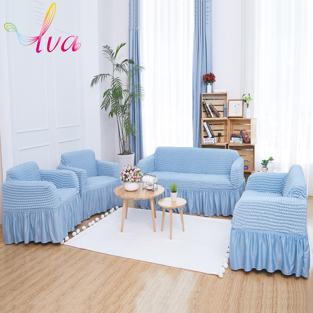 LVA Sectional Elastic Sofa Cover Easy Use Durable Couch