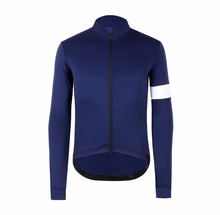 где купить New colour arrive classic tight winter thermal fleece Cycling Jersey long seleve for winter top quality bicycle jacket clothes дешево