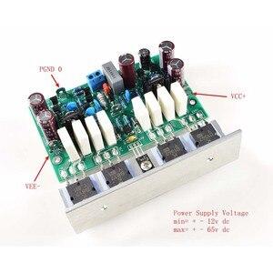 Image 3 - Lusya 2 stücke HALLO END L20 VER 10 Stero power verstärker fertig bord 200W 8R Mit winkel aluminium D2 011