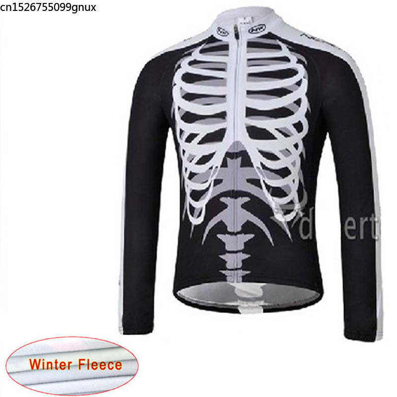 2019 NW Winter Thermal Fleece Cycling Jersey Warm Bicycle Mountain Cycling Clothing Sportswear Maillot Ropa Ciclismo Hombre C28(China)