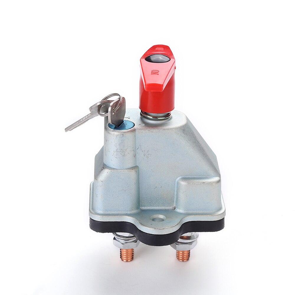 300A 12V 24V Car Fixed Key Battery Isolator Disconnect Power Kill Cut Off Switch
