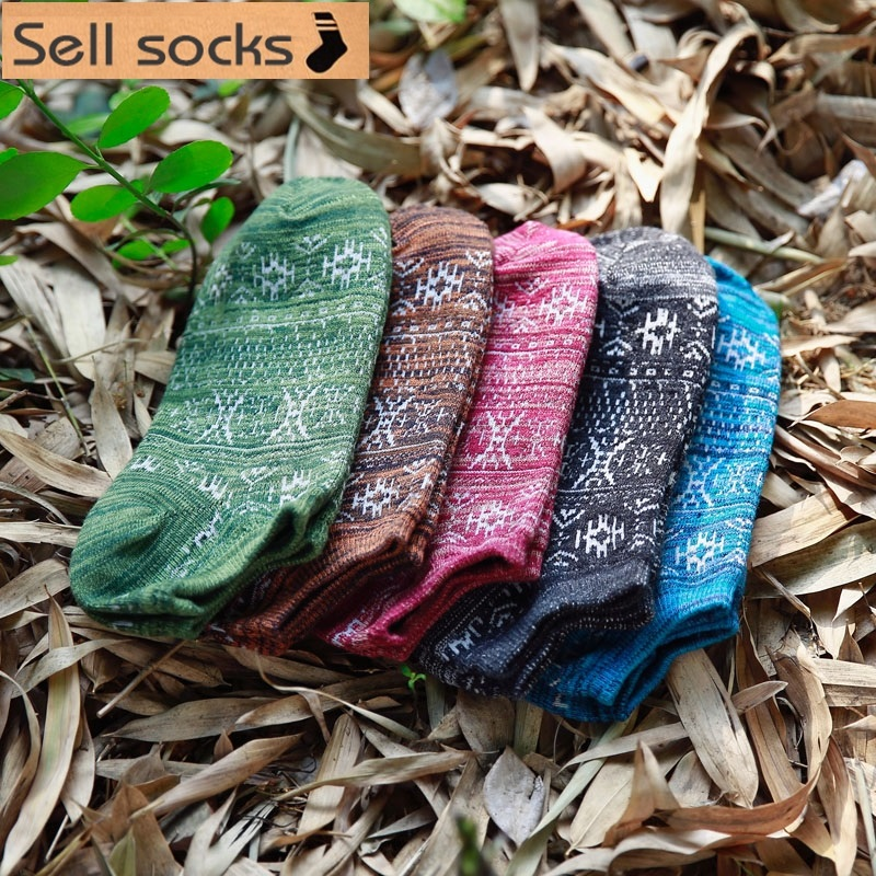 new summer Breathable Rough lines man Casual ankle cotton socks men boat sock slippers harajuku EUR39-44