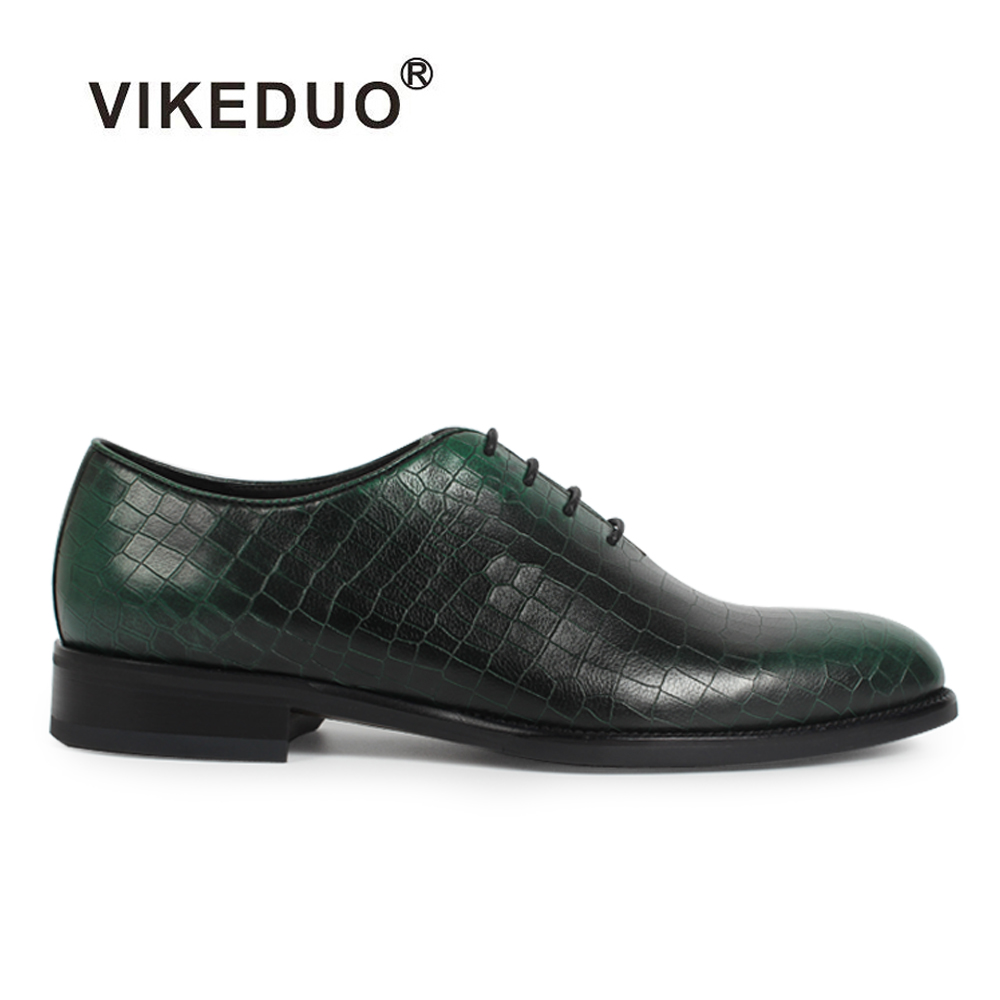 2018 Vikeduo Awesome Vinatge Mens Oxford Shoes Style 100% Genuine Leather Luxury Fashion Party Dress Wedding Original Design 2017 vintage retro custom men flat hot sale real mens oxford shoes dress wedding party genuine leather shoes original design