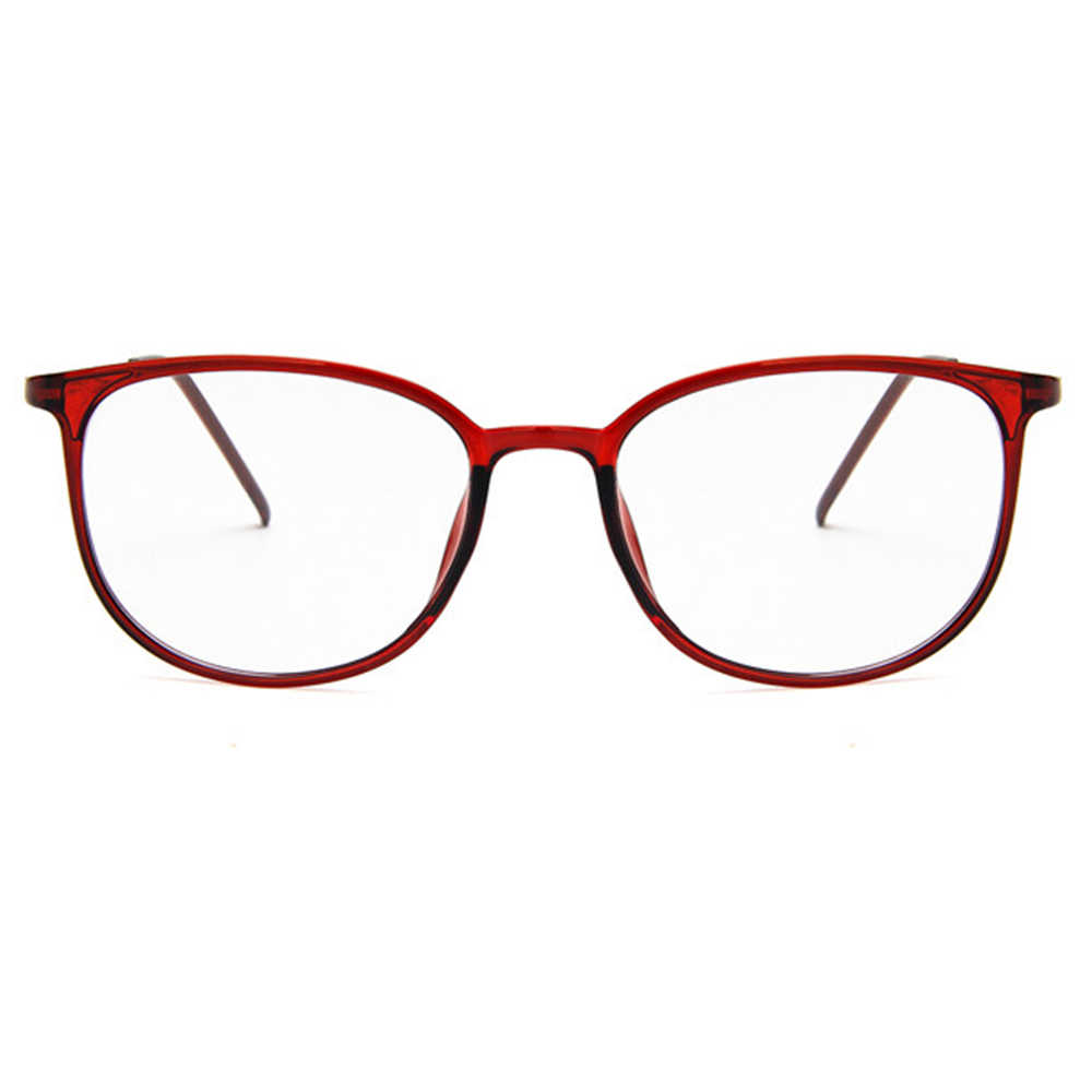 Ultralight Literary Style Retro Square Eyes Frame Classic TREND Spectacles with Optical Lens or Photochromic Gray / Brown Lenses