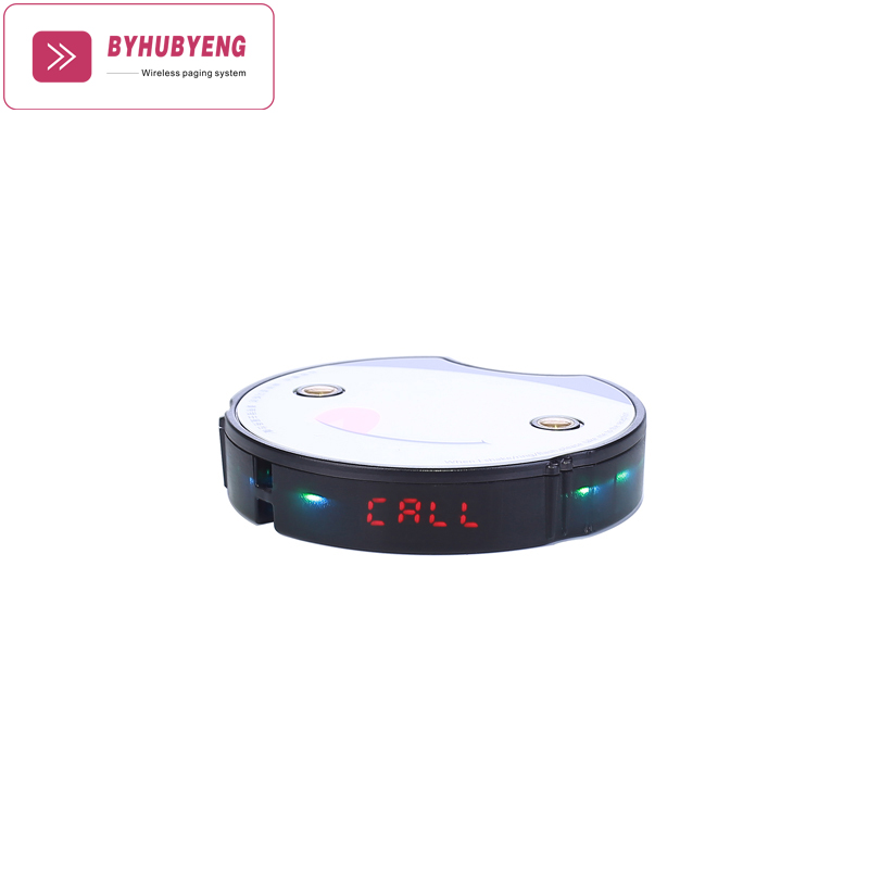 BYHUBYENG Pager Call Customer Service Restaurant Pagering System 1 PCS Wireless Coaster Pagers Waiter Calling SystemBYHUBYENG Pager Call Customer Service Restaurant Pagering System 1 PCS Wireless Coaster Pagers Waiter Calling System