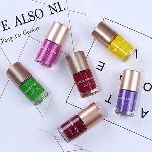 Image 5 - NICOLE DIARY esmalte de uñas estampado, esmalte de uñas estampado colorido, 5ml, negro, dorado y plateado, 9ml