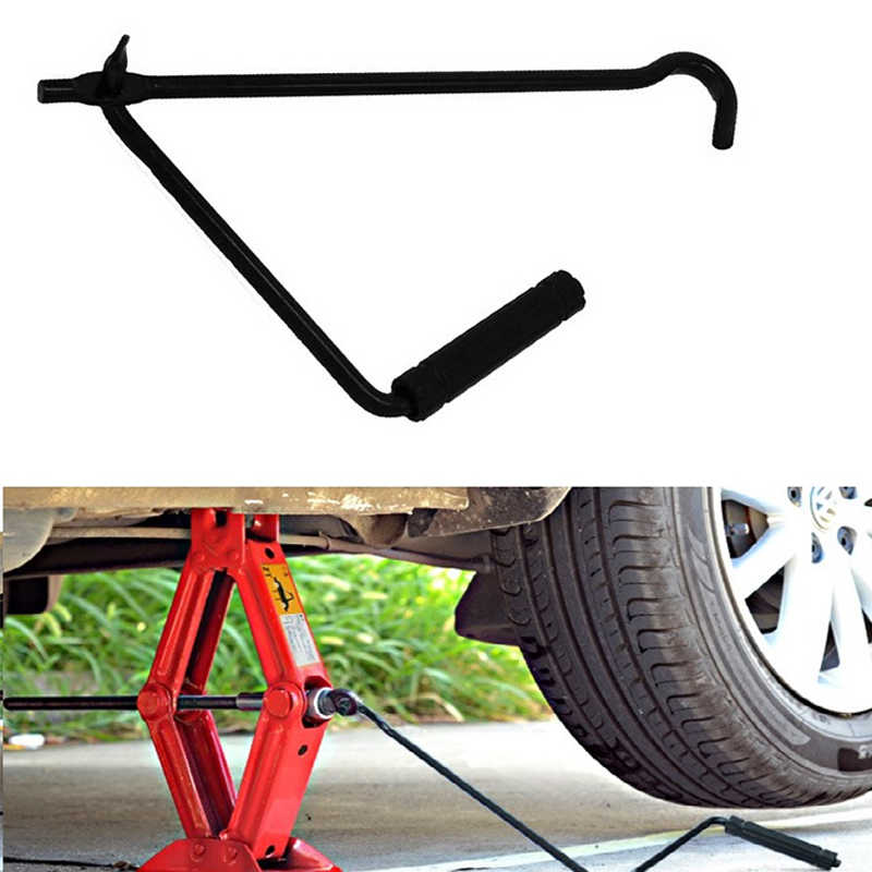 Car Foldable Hand Jack Rocker Folding Handle Scissor Jack Rocker General Tools For Auto Car Truck SUV Jacks Car Repair Tools