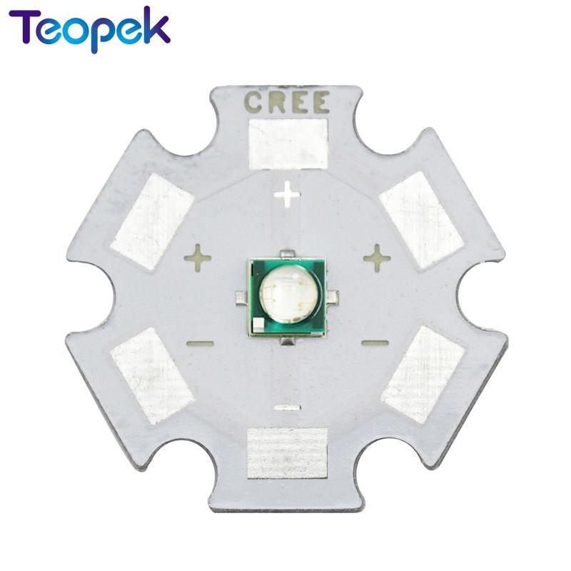 10pcs 3W 3535 UV High Power LED Light Chip 365nm 380nm 395nm 420nm Ultra Violet DIY with 8mm 12mm 14mm 16mm 20mm star pcb