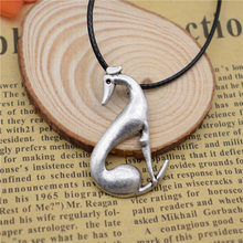 LPHZQH fashion vintage Italian Greyhound dog pendant necklace Women Spanish Grey Whippet Hound choker necklace Jewelry gift punk
