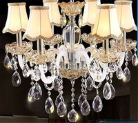 Wholesales Clear Art Glass Drops Chandelier Pendant Light Lamp Part Hanging Prisms DIY Accessories Crystal Pendant Parts