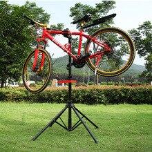Vtt de réparation stand béquille ailes béquille vélo de route en alliage d'aluminium de vélo outil de réparation accessoires de stationnement