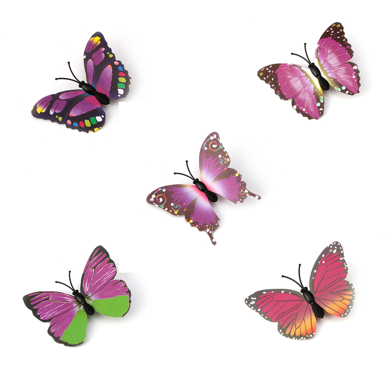 5pcs Butterfly Flower Hair Clip Hair Claw Clamp Party Bridal Hair Pins For Party Wedding Apparel Accessories