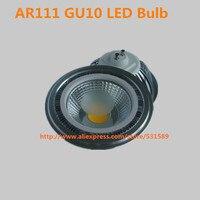 משלוח חינם 20 יחידות סופר Ar111 GU10 COB 15 W ניתן לעמעום נורת LED COB אור LED ספוט 85-265 V