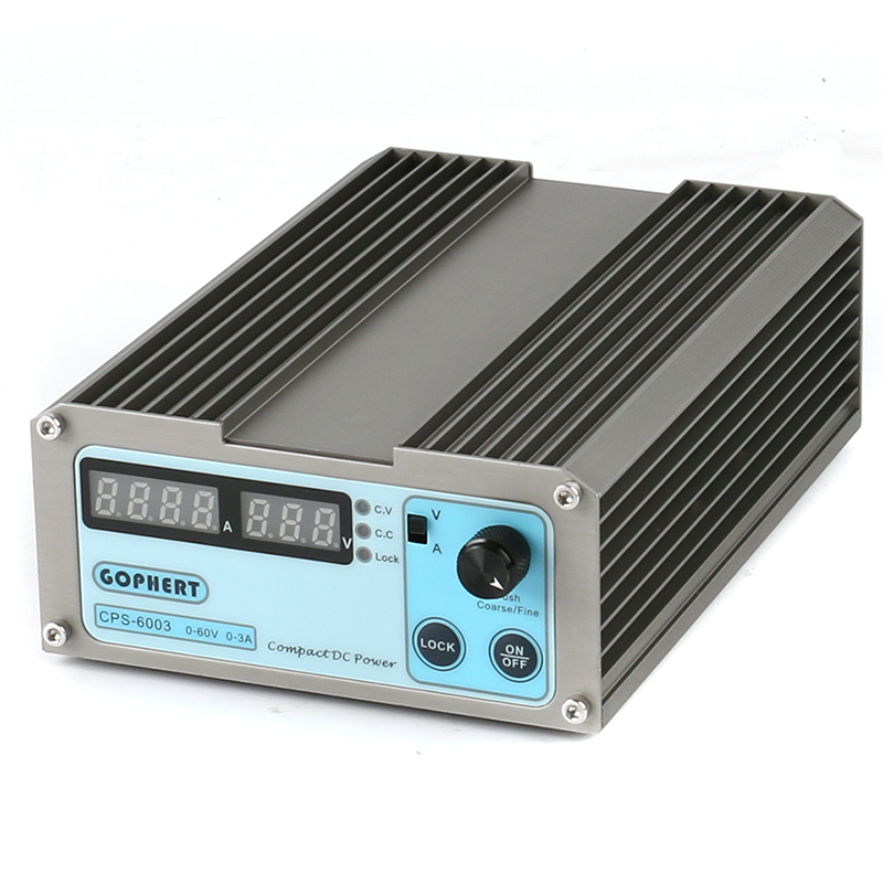 6003 Campact High Precision Digital Adjustable MINI DC Power Supply OVP OCP OTP 30V 60V 3A