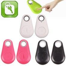 Мини Смарт Bluetooth 4.0 Tracker Finder Pet Ребенок Дети Камера GPS Локатор Тревоги Тега Ключа Бумажника Трекер