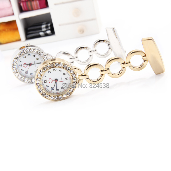 Free shipping silver diamond charms pendants quartz nurse watch for free shipping silver diamond charms pendants quartz nurse watch for doctor nurse angel gift fob watch 9 colors in pocket fob watches from watches on aloadofball Gallery