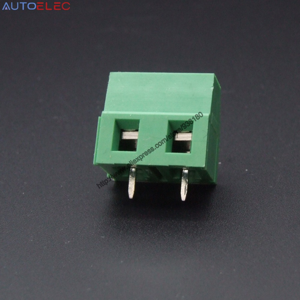 Pcb Screw Terminal Block Connector Kf128 2p Pitch50mm 02inch Gm Fuse Box Crimpers Green 5mm 2pins Instead Of Phoenix No Mkdsn 25 2 1890963 In Blocks From Home