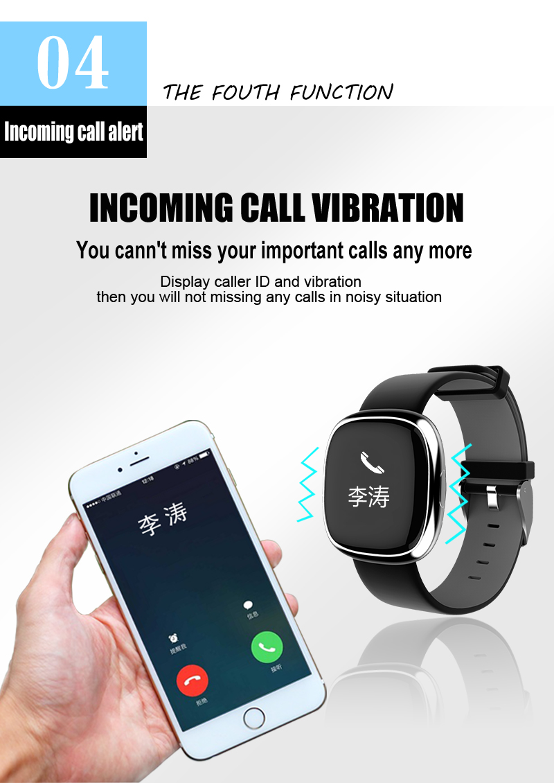 P2 Smart watch Fitness Tracker Band Blood Pressure Watch Bluetooth Health Bracelet Connecte Bangle Waterproof PK miband 2 9