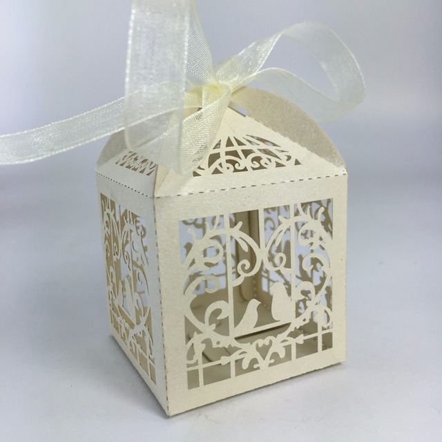 Whole Wedding Candy Box Laser Cut Favor Bo Casamento Favors Gifts