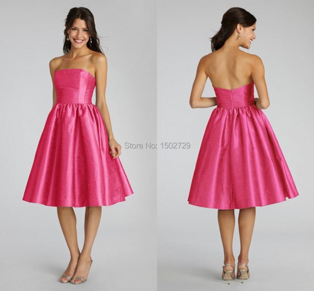 Popular Hot Pink Bridesmaid Dresses-Buy Cheap Hot Pink Bridesmaid ...