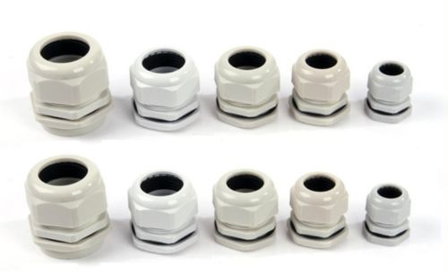 Cable gland PG7 PG9 PG11 PG13,5 PG16 PG21, PG29, PG36, PG42, PG48 cable nylon cable connector waterproof nylon plastic gland pg7 9 11 13 5 16 19 21 25 29