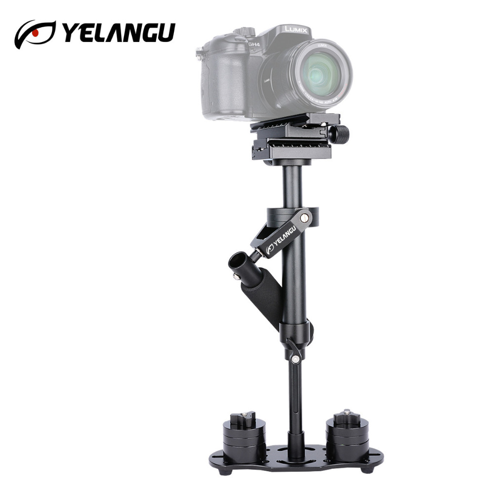 YELANGU S40N  Aluminum Alloy Camera Stabilizer Handheld Steadicam Steadycam for DSLR Camera Camcorder HDDV