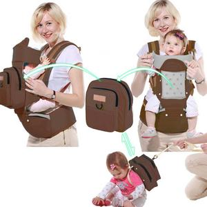 Baby Carrier BackpacksMulti-functionAdjustable Soft Breathable Infant Carry Safe Baby Carrier Comfortable for All Season