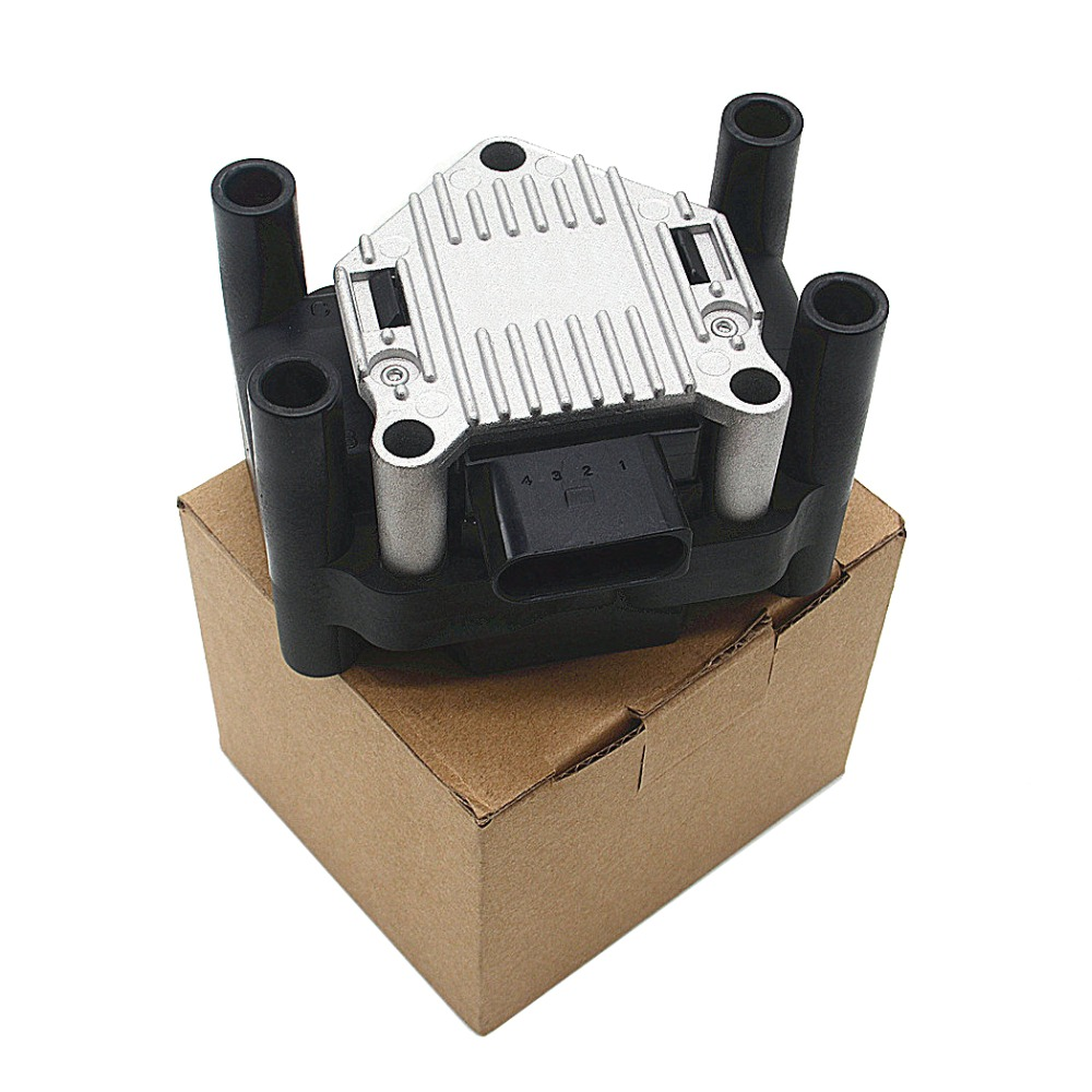 Ignition Coil Pack For VW Beetle Jetta Polo Golf MK4 MK5 6 Bora Caddy Passat AUDI A1 1.2 A2 A3 A4 2.0L 1.6L 1.4L 1.8L 06B905106A for vw golf caddy bora polo 1 4 1 6 16v egr valve 036131503r with gaskets