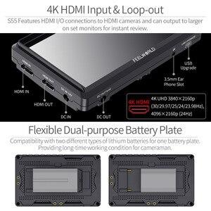 Image 2 - FEELWORLD FW572 5.5 นิ้วกล้องDSLR 4K HDMI LCD IPS HD 1280X720 จอแสดงผลField Monitorสำหรับกล้องถ่ายภาพFilmmaking