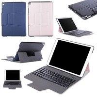 Ultra Thin Slim Wireless Bluetooth 3 0 Keyboard Dock Case Fold Stand PU Leather Smart Cover