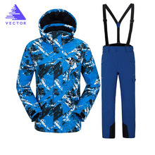 цены Ski Jacket 2019 New Arrival Women Ski Suit Warm Skiing Snow Jacket Hot Sale High Quality Women Ski Jackets