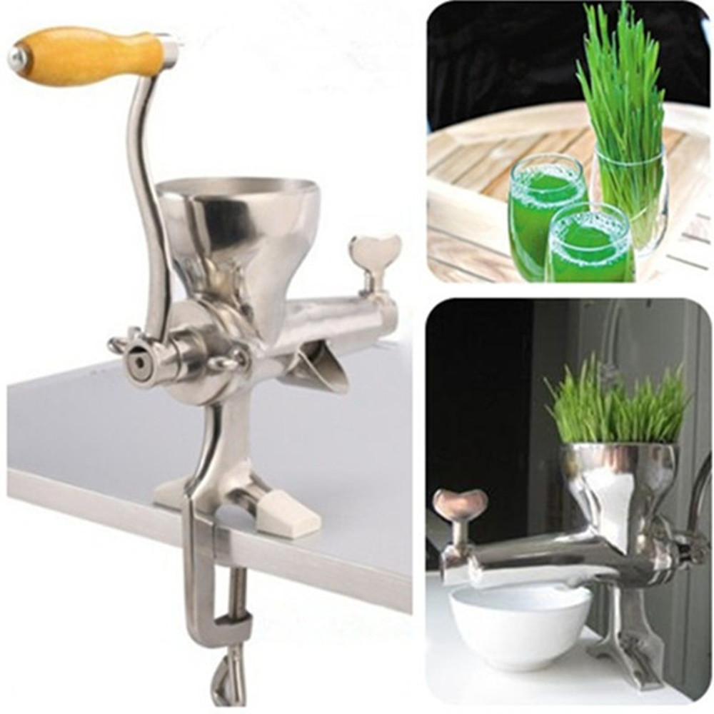 Wheat grass juicer stainless steel manual home use vegetable orange juicing machine juice extractor wheat grass juicer stainless steel manual home use vegetable orange juicing machine juice extractor