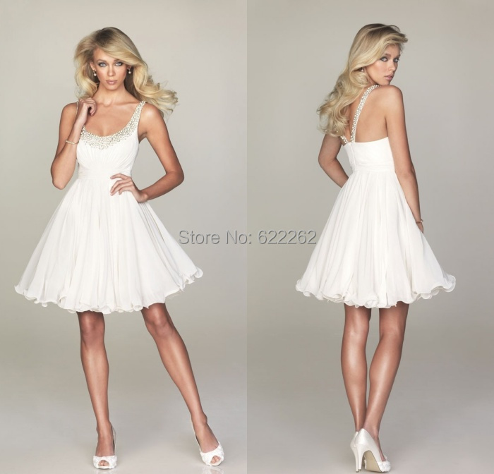 Online Buy Wholesale white cocktail dresses cheap from China white ...
