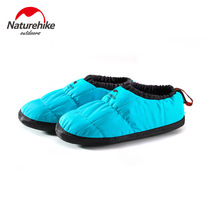 Naturehike Outdoor cotton shoes windproof waterproof non-slip breathable ultra light camp shoes indoor home warm cotton shoes