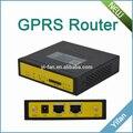 F3127 una Lan un puerto serie pequeño tamaño compacto gsm Industrial gprs router para ATM máquina expendedora