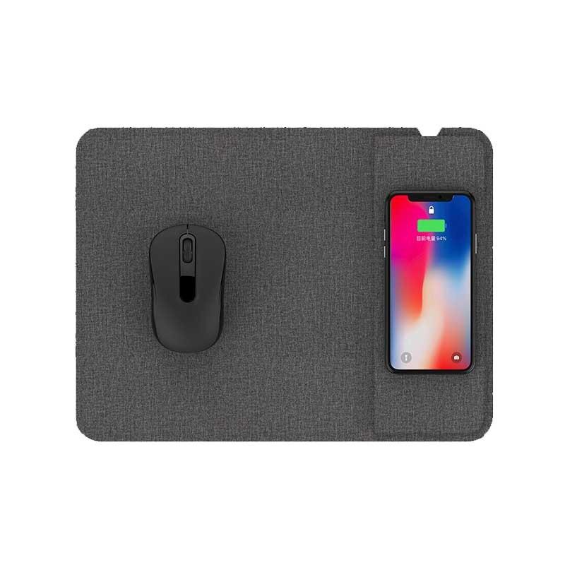 Jeu multifonction tapis de souris Ultra-mince avec chargeur sans fil 5/10 W pour téléphone QJY99