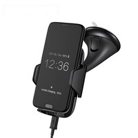 New Multi Function QI Wireless Charger Safe And Portable Over Temperature Protection Wireless Car Phone Bracket